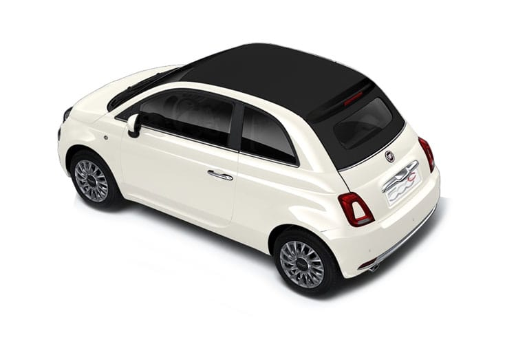 Fiat 500 C Convertible 1.0 MHEV 70PS Sport 2Dr Manual [Start Stop] back view
