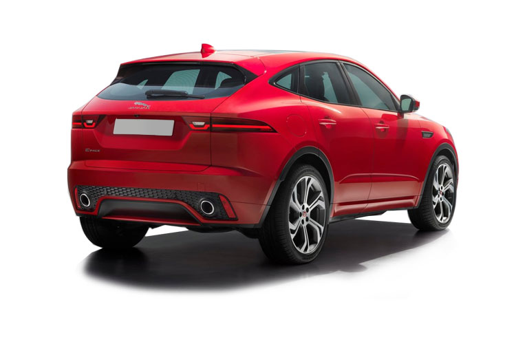 Jaguar E-PACE SUV AWD 2.0 d 240PS R-Dynamic HSE 5Dr Auto [Start Stop] back view