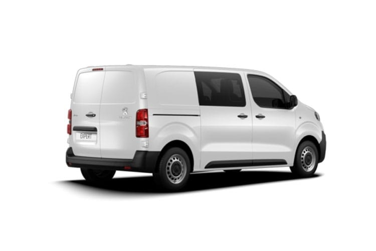 Peugeot Expert Standard 1400Kg 2.0 BlueHDi FWD 150PS Sport Edition Crew Van Manual [Start Stop] back view