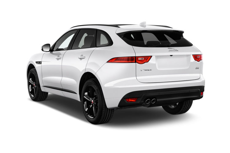 Jaguar F-PACE SUV AWD 2.0 P400e PHEV 17.1kWh 404PS S 5Dr Auto [Start Stop] back view