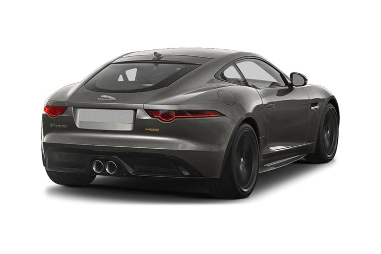 Jaguar F-TYPE Coupe AWD 5.0 V8 575PS Heritage 60 Edition 2Dr Auto [Start Stop] back view