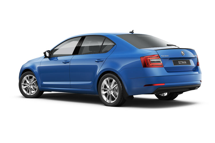 Skoda Octavia Hatch 5Dr 2.0 TDi 116PS SE L 5Dr DSG [Start Stop] back view