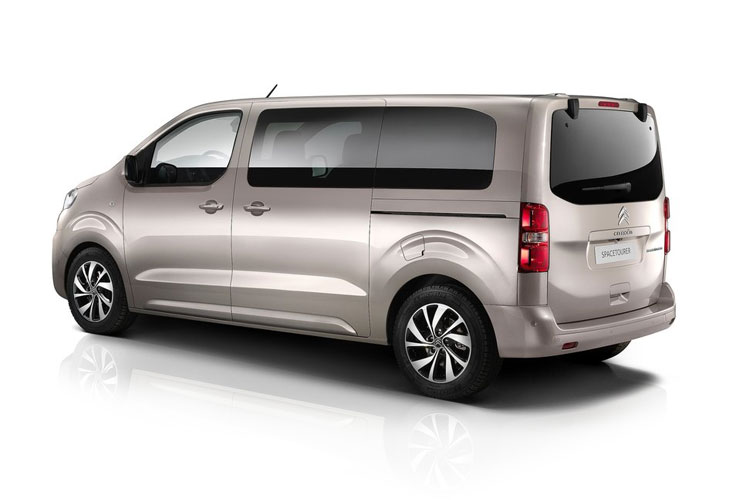 Citroen SpaceTourer e-SpaceTourer M 5Dr Elec 50kWh 100KW FWD 136PS Feel MPV Auto [8Seat 11kW Charger] back view