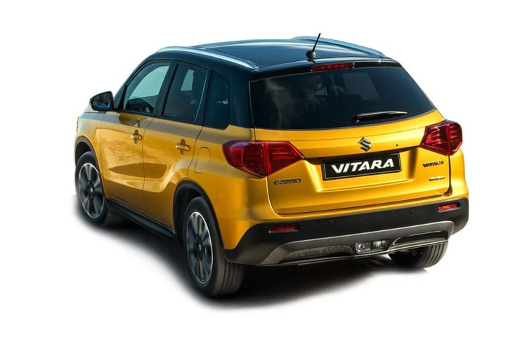 Suzuki Vitara SUV ALLGRIP 1.4 Boosterjet MHEV 129PS SZ5 5Dr Manual [Start Stop] back view