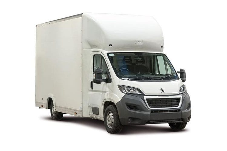 Peugeot Boxer 335 L3 2.2 BlueHDi FWD 140PS Built for Business Plus Luton Manual [Start Stop] [Low-Floor] front view