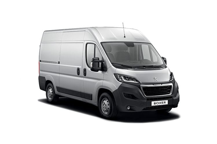 Peugeot Boxer 435 L3 2.2 BlueHDi FWD 140PS Grip Van High Roof Manual [Start Stop] front view