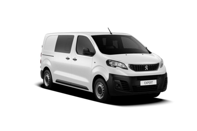 Peugeot Expert Standard 1400Kg 2.0 BlueHDi FWD 150PS Sport Edition Crew Van Manual [Start Stop] front view
