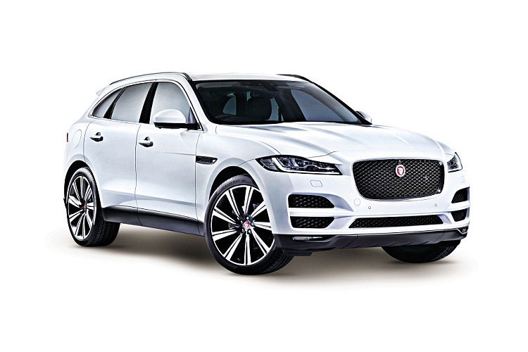 Jaguar F-PACE SUV AWD 2.0 i 250PS R-Dynamic S 5Dr Auto [Start Stop] front view
