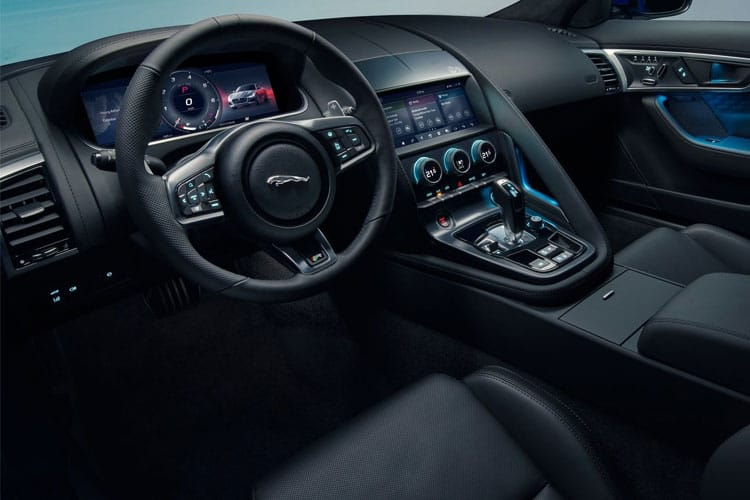 Jaguar F-TYPE Coupe AWD 5.0 V8 575PS Heritage 60 Edition 2Dr Auto [Start Stop] inside view