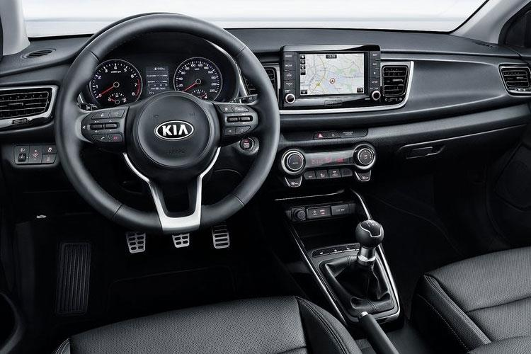 Kia Rio Hatch 5Dr 1.0 T-GDi MHEV 118PS GT Line S 5Dr DCT [Start Stop] inside view