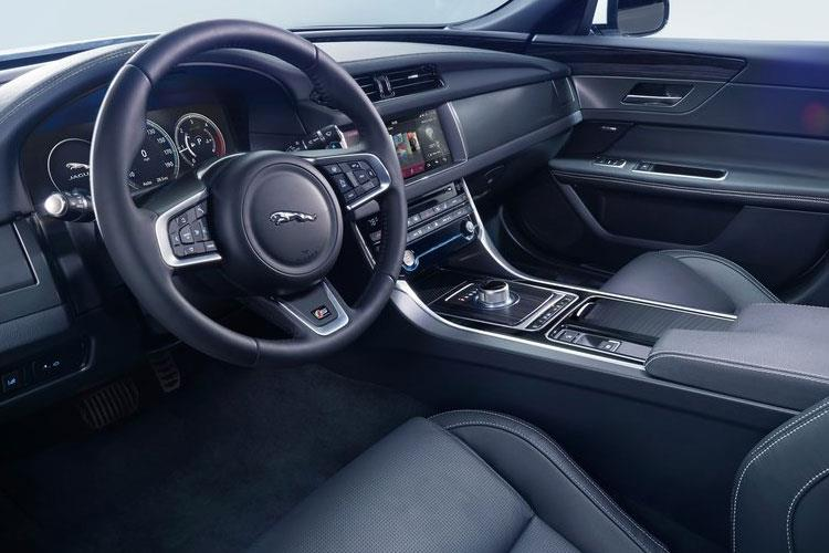 Jaguar XF Saloon 2.0 d 180PS R-Sport 4Dr Manual [Start Stop] inside view